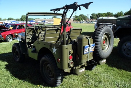 Gary Paul Johnston's Battle-Ready '51 Willys Jeep M-38